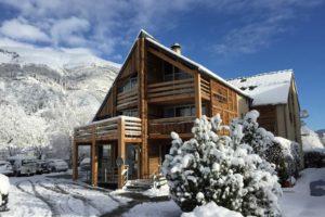 Hotel en hiver