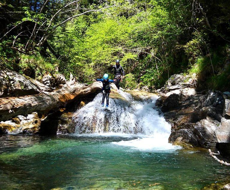 Saut Canyon Espagne