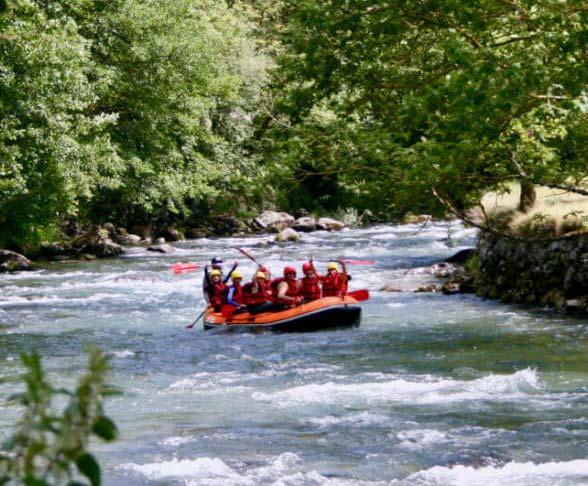 Rafting sur la Neste