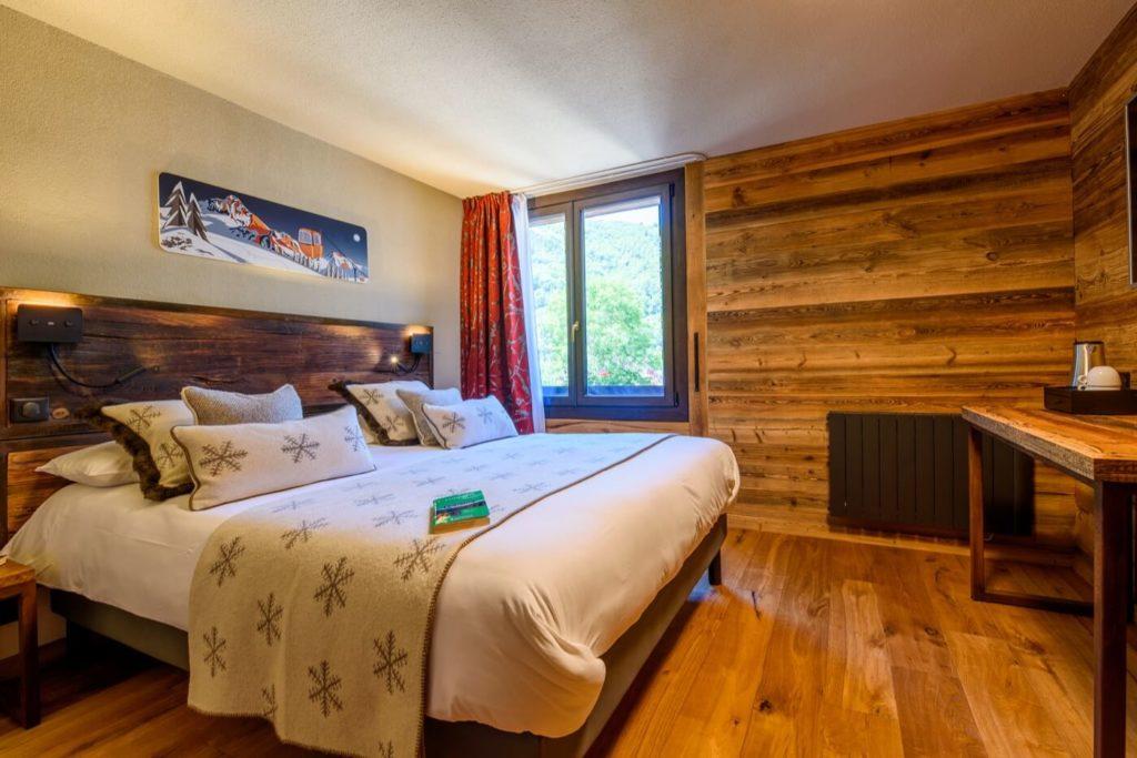 Chambre standard hotel neste de jade saint-lary soulan